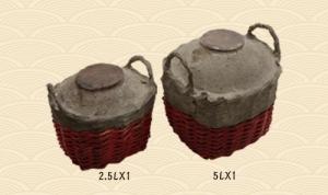 竹篓血封酒